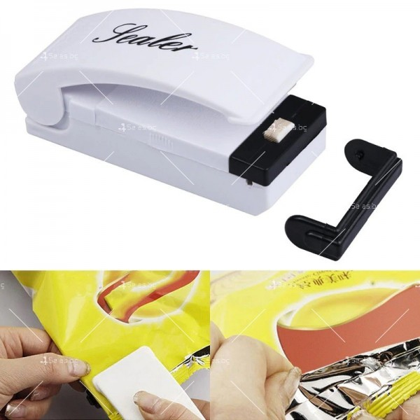 Уред за запечатване на торби и пликове Bag Sealer TV332 6