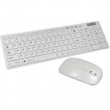 Ултра тънка клавиатура и мишка с Bluetooth и WIreless 2.4G