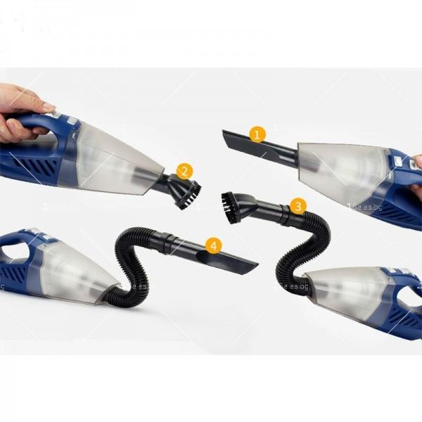 Прахосмукачка за кола с накрайници за почистване AUTO CLEAN1 2