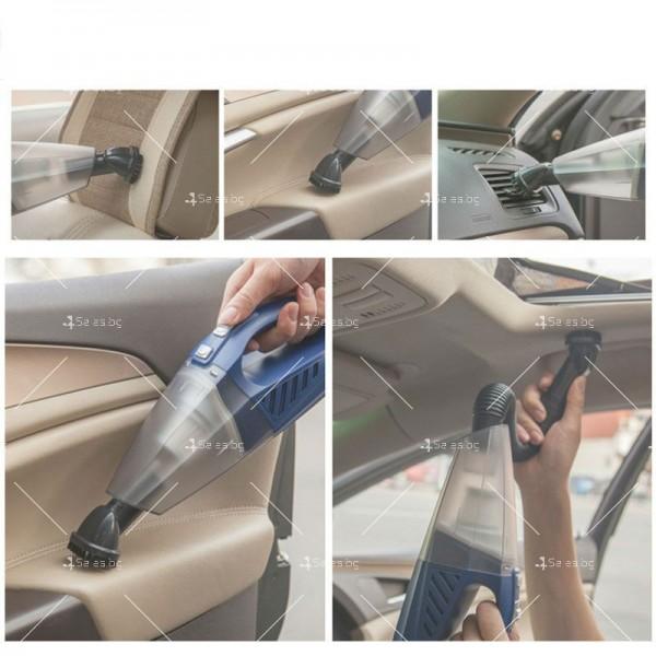 Прахосмукачка за кола с накрайници за почистване AUTO CLEAN1 4