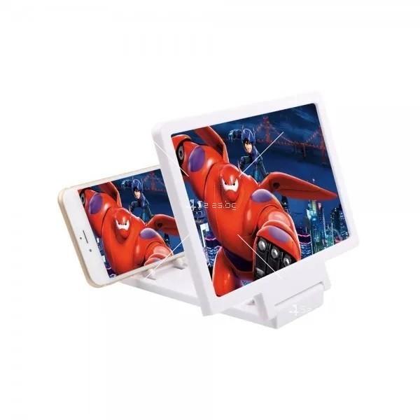 Увеличителен екран за телефон 3D TV166 2