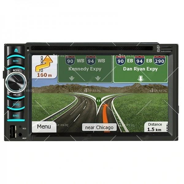 """Тъчскрийн навигация за кола GPS/DVD 6.2"""""""