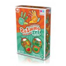 KS Games 2 в 1 образователна игра – Ляво и дясно