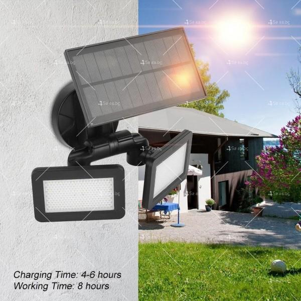 Градинска соларна лампа 2
