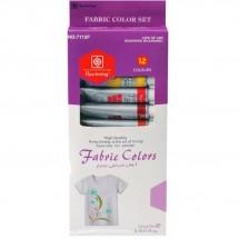 Бои за текстил – 12 цвята Fabric colors Keep smiling