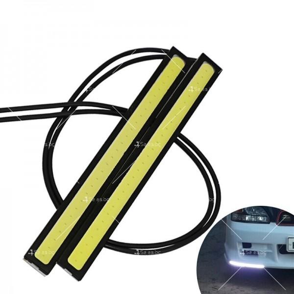 Плазмен стил 200mm LED Дневени светлини 3