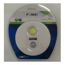 Ефективна LED лампа със сензор за движение