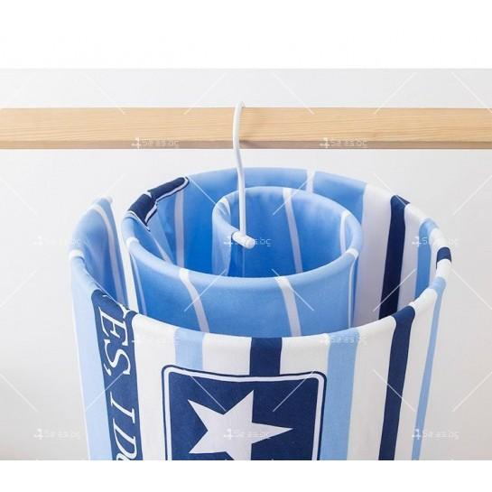 Спираловиден простор/закачалка за чаршафи, одеяла и кърпи TV303