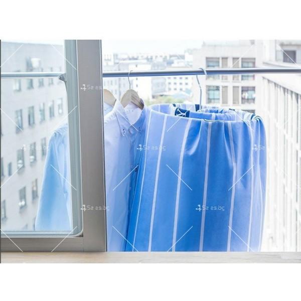 Спираловиден простор/закачалка за чаршафи, одеяла и кърпи TV303 9