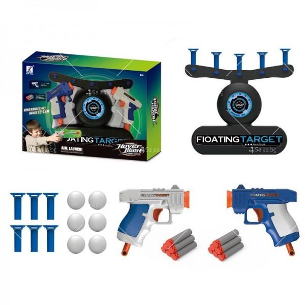 Детска игра с пистолети и плаващи мишени TV309 3