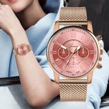 Стилен дамски часовник Geneva W WATCH-1