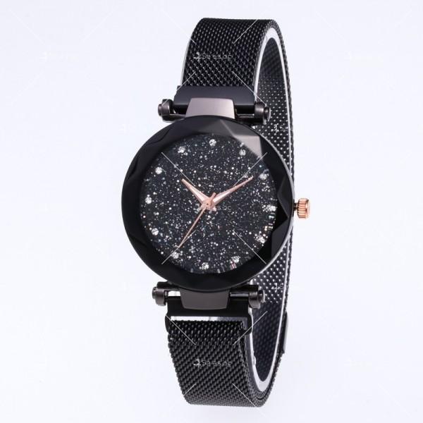 """Модерен дамски часовник """"Звездно небе"""" с магнитно закопчаване W WATCH2 2"""