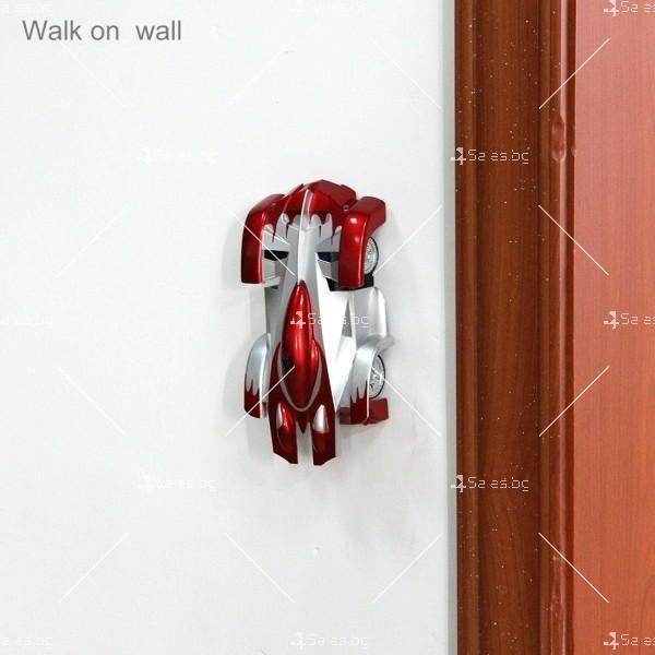 Антигравитационна кола - Wall climber car - количка която се движи по стени 16