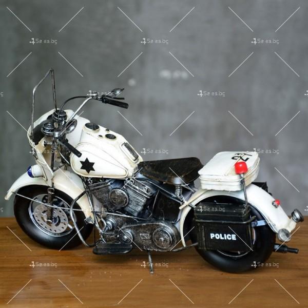 Декоративна мини-фигурка полицейски мотоциклет 3