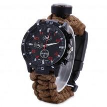 Практичен спортен мъжки часовник за пътешественици и авантюристи