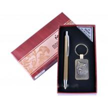 Подаръчен комплект - елегантна химикалка и ключодържател