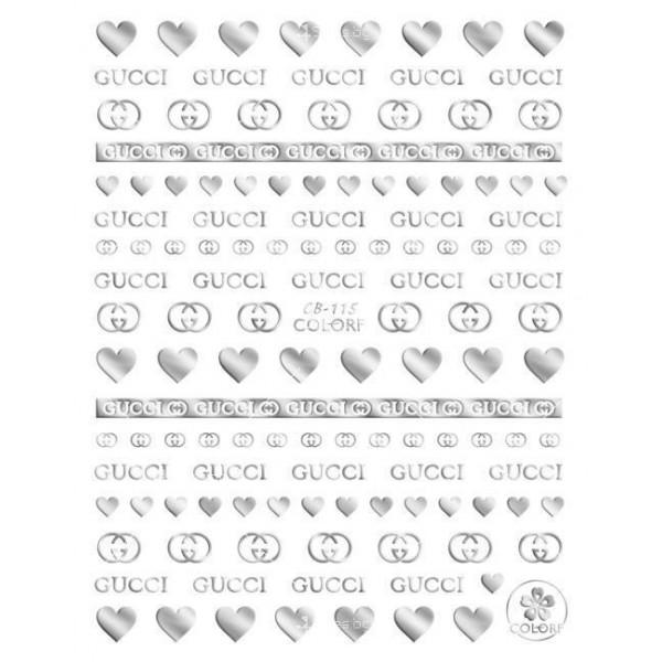 Стикери за декорация на маникюр и педикюр, Zjy64 10