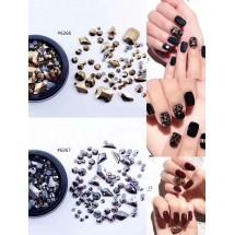 Бляскави камъчета за декорация на маникюр и педикюр, Zjy65