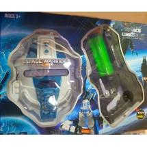 """Маска и пистолет """"Space warriors"""""""