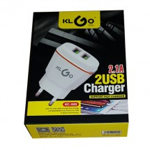 Двойно USB зарядно KLGO CA16