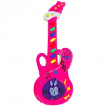Розова китара за момичета Music