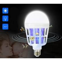 LED крушка против комари с адаптор за стена TV313