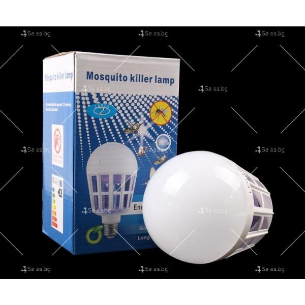LED крушка против комари с адаптор за стена TV313 4
