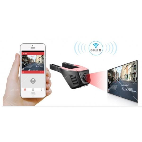 Видеорегистратор с две камери + WiFi и 1080p качество AC41 1