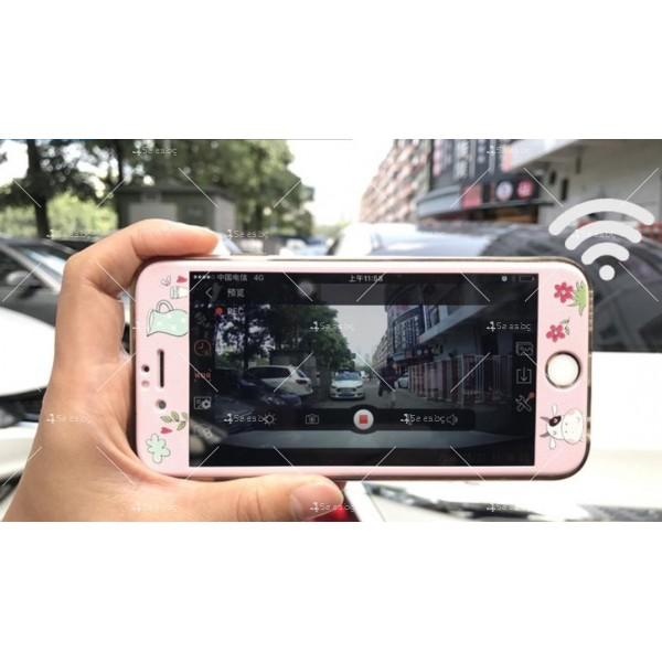 Видеорегистратор с две камери + WiFi и 1080p качество AC41 24
