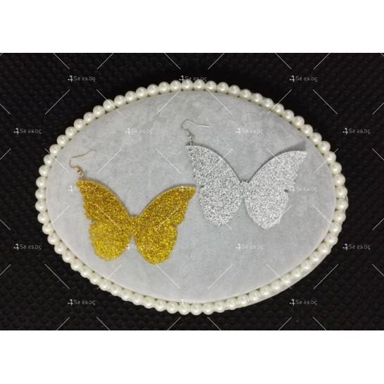 Масивни обеци пеперуди А18
