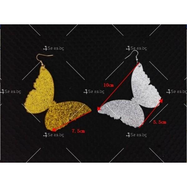 Масивни обеци пеперуди А18 5