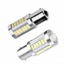 LED крушки за мигачи за автомобил 1156 CAR LED28