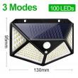 Водоустойчива соларна LED лампа за навън с 3 режима на работа H LED8