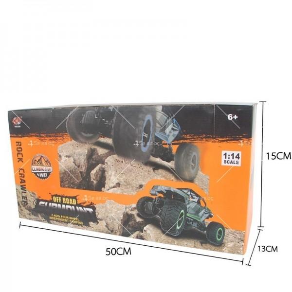 Детски офроуд джип с дистанционно управление TOY CAR-19 5