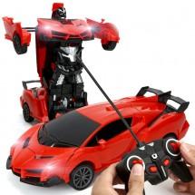 Спортен автомобил с дистанционно – трансформърс TOY CAR24