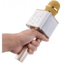 Безжичен Bluetooth микрофон за караоке с вградена колонка Q7