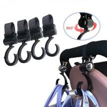 Аксесоар-закачалки за бебешка количка