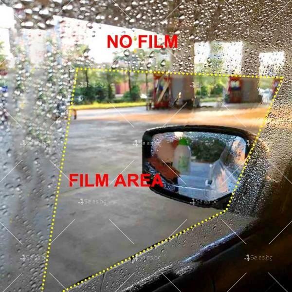 Защитно фолио за огледалата за обратно виждане и стъклата на автомобила FOLIO 18