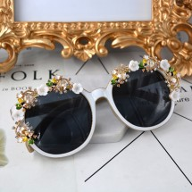 Дамски очила с кристални бижута в модни нюанси yj16