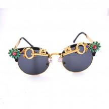 Слънчеви очила с богата украса – ключ yj28