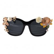 Барокови очила с декорация цветя/пчела yj29