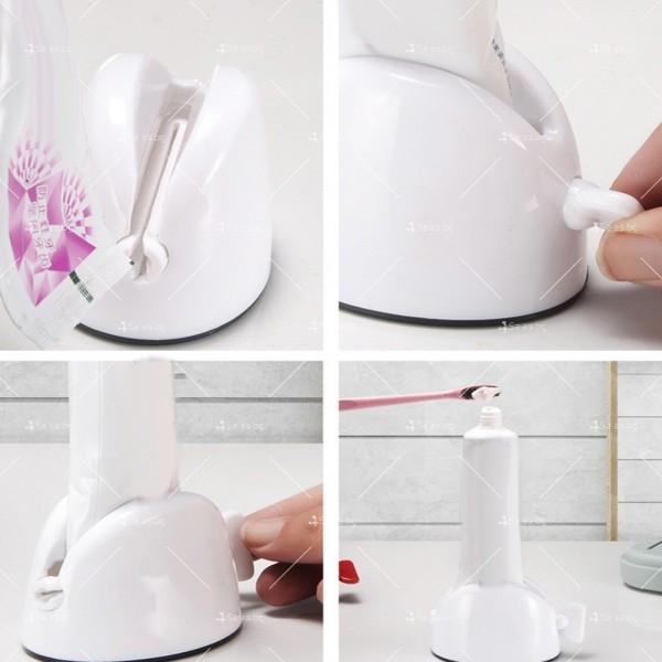 Ръчен държач за изстискване на паста за зъби TV429 8