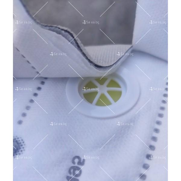 Защитна предпазна маска KN95 Респиратор за лице с активен въглен 7степенна защита 29