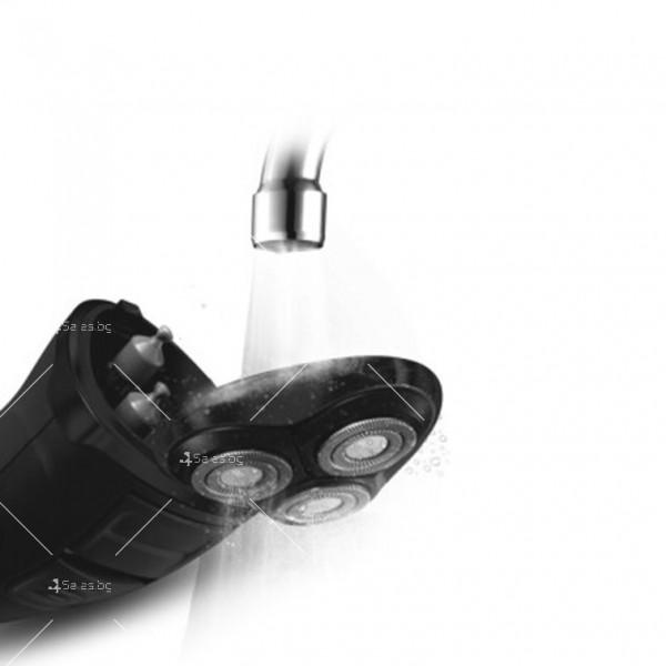 Електрическа самобръсначка с триглава плаваща глава SHAV1 3