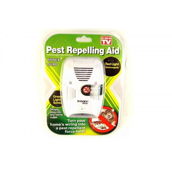 Ултразвуков уред за отблъскване на гризачи и насекоми Ridex Quad 2 в 1 TV456 1