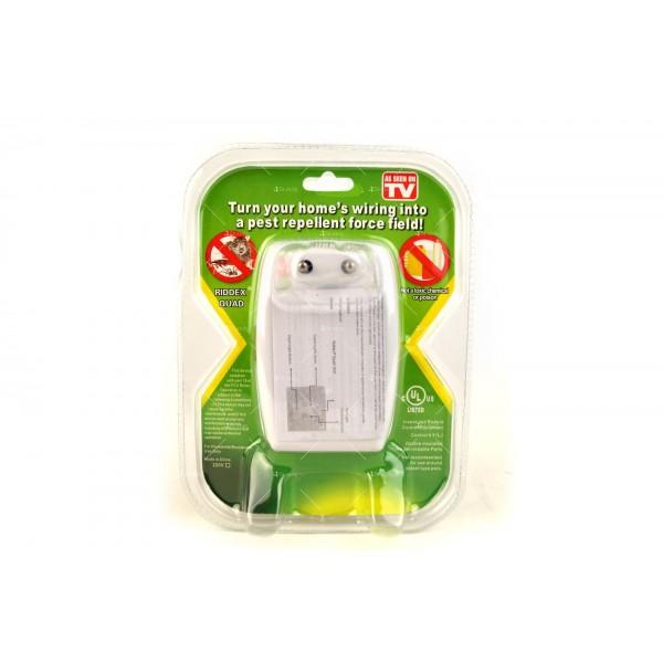 Ултразвуков уред за отблъскване на гризачи и насекоми Ridex Quad 2 в 1 TV456 2
