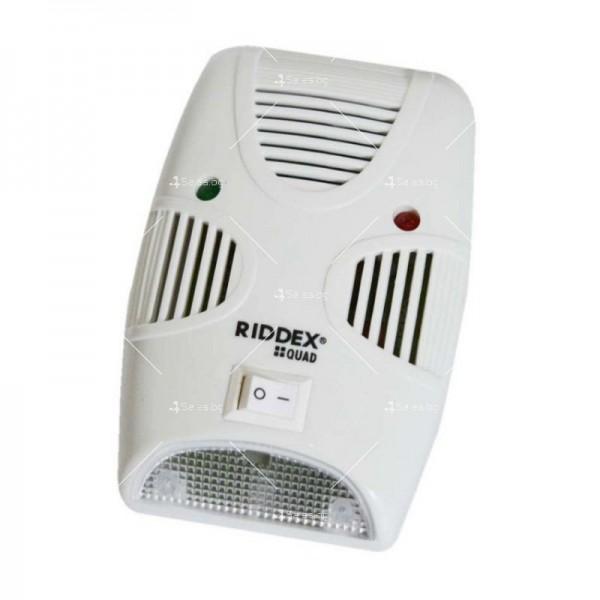 Ултразвуков уред за отблъскване на гризачи и насекоми Ridex Quad 2 в 1 TV456 5