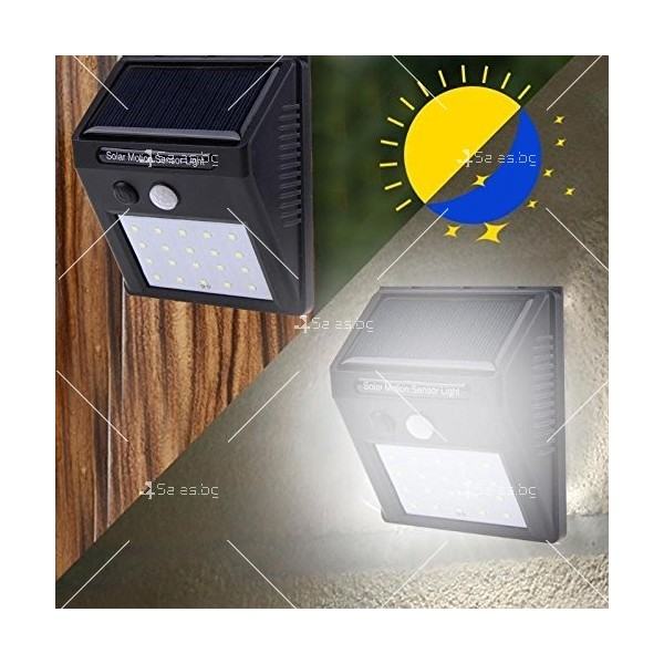 Соларно осветление за градина/двор с 20/25/30 LED светлини H LED2 6
