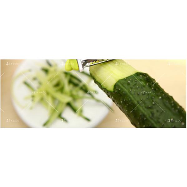 Сгъваем многофункционален нож за белене на плодове и зеленчуци, ренде TV39 2