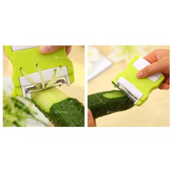 Сгъваем многофункционален нож за белене на плодове и зеленчуци, ренде TV39 8
